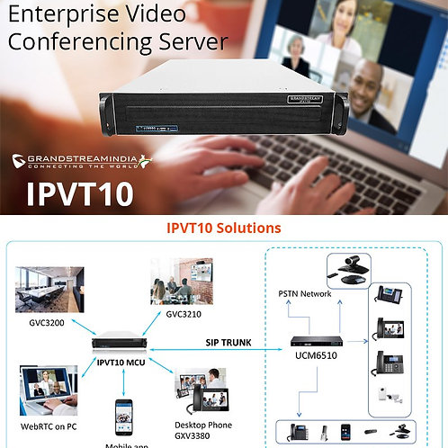GRANDSTREAM PREMIER VIDEO CONFERENCIN SERVER-IPV10