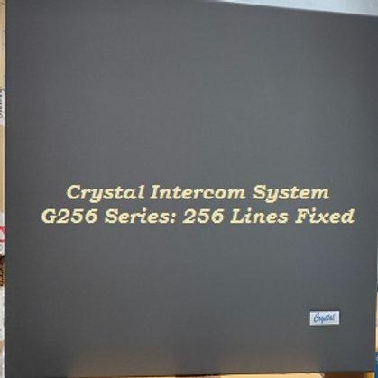 CRYSTAL G256 FIXED INTERCOM SYSTEM