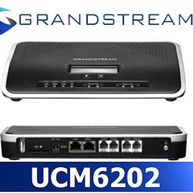 GRANDSRTEAM-UCM6202(2 FXO, 2 FXS, 2 GigE, 500 Users)
