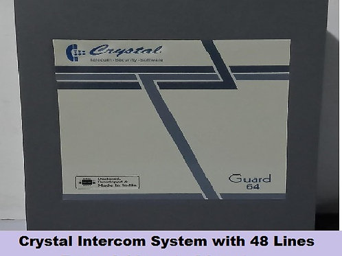 Crystal G-64 series Intercom System with 48 Lines
