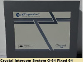 Crystal G--64 Fixed Intercom System 64 Lines on;y