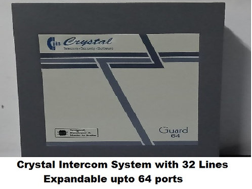 Crystal G64 series Intercom System with 32 Lines