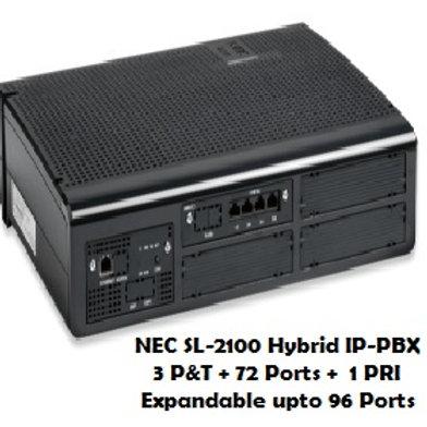 NEC SL-2100 Hybrid EPABX System 72 Ports