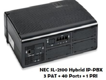 NEC SL-2100 Hybrid EPABX System 40 Ports