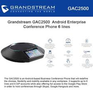GRANDSTEAM-GAC2500(Android Enterprise Conference Phone)