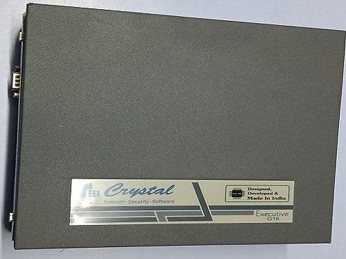 Crystal 16 Lines Fixed Intercom System