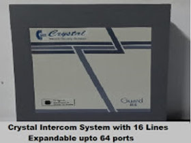 Crystal G-64 series Intercom System with 16 Lines