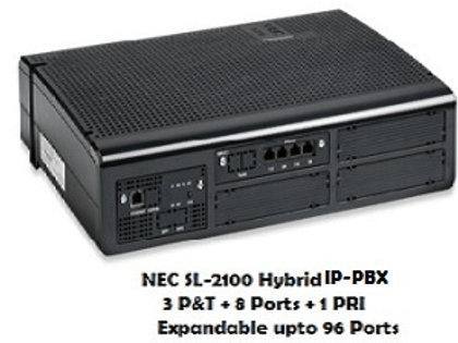 NEC SL-2100 Hybrid EPABX System  8 Ports