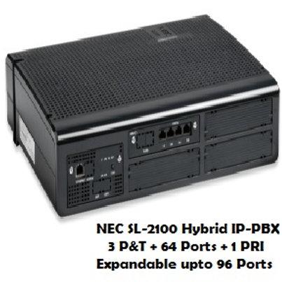 NEC SL-2100 Hybrid EPABX System 64 Ports