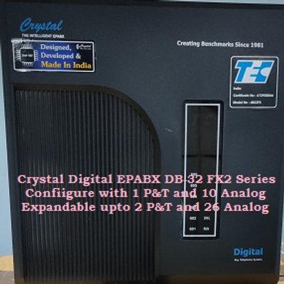 CRYSTAL DIGITAL EPABX DB-32 FX2-1 P&T AND 10 ANALOG