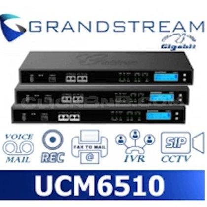 GRANDSTREAM-UCM6510( 2 FXO, 2 FXS, 2 GigE, E1/T1,2000 User)