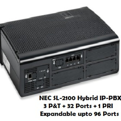 NEC SL-2100 Hybrid EPABX System 32 Ports
