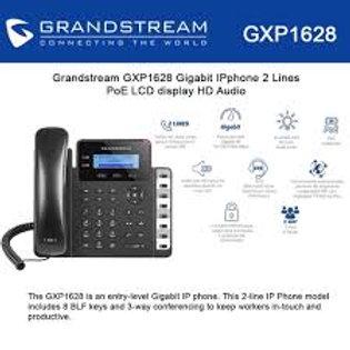 GRANDSTEAM-GXP1628(2 Lines, 2 SIP Accounts, PoE + GigE,)