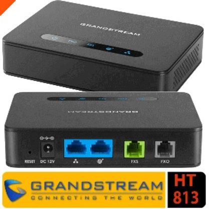 HT813 (1 FXS, 1 FXO,2 GigE NAT Router)