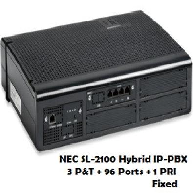 NEC SL-2100 Hybrid EPABX System 96 Ports