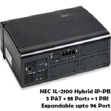 NEC SL-2100 Hybrid EPABX System 88 Ports