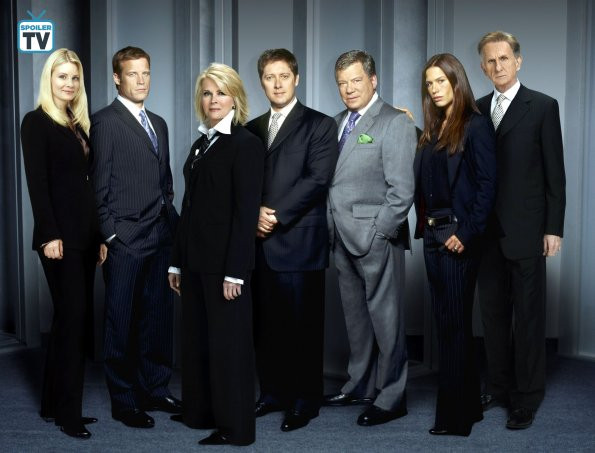 cast photo of Boston Legal season two