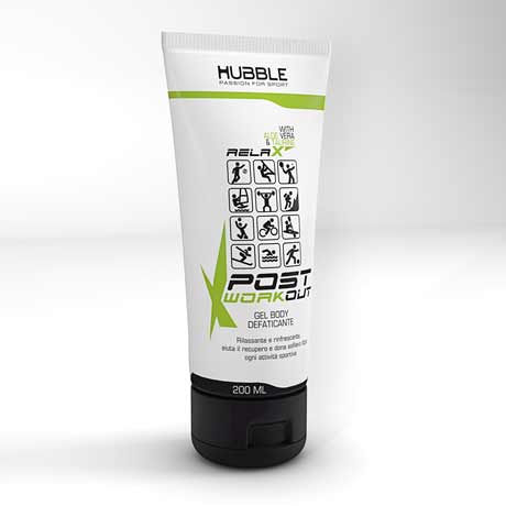 post-workout relax gel body hubble