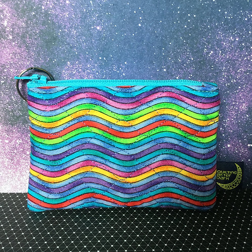 Card pouch - color waves