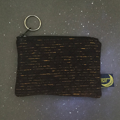 Card pouch - copper stripe