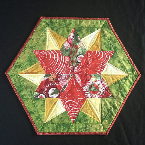 Poinsettia placemats (8)