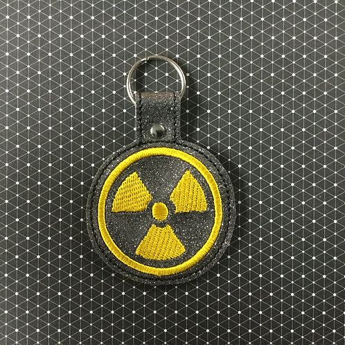 Radioactivity keyfob