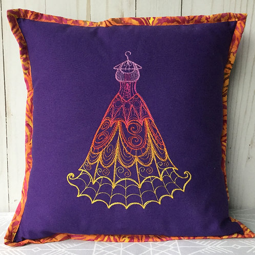 Autumn Gown pillow cover