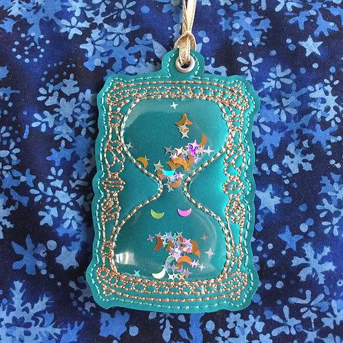 Hourglass ornament
