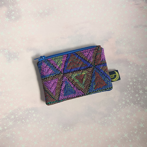 Card pouch - triangles