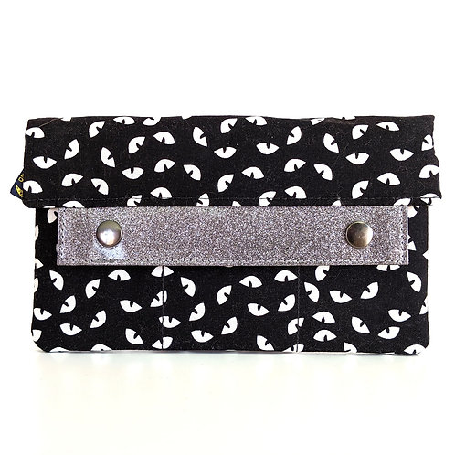 Night Eyes minimalist wallet