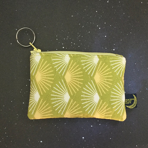 Card pouch - sunny fans