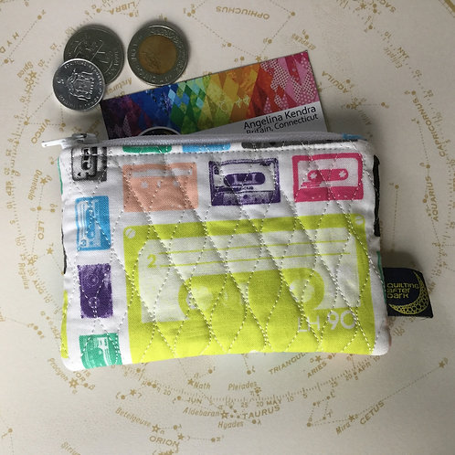 Card pouch - mix tape