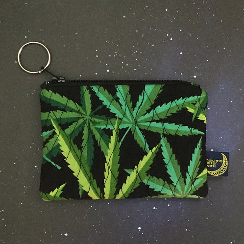 Card pouch - cannabis