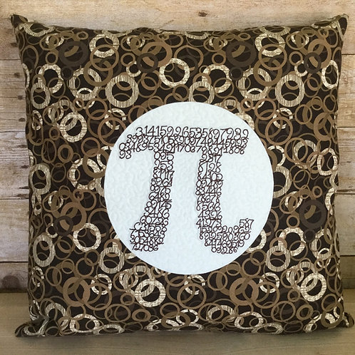Pi Rings pillow cover