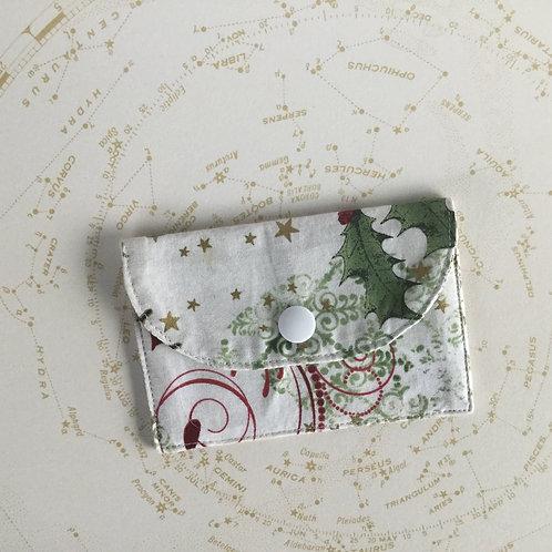 Gift card envelope - holly