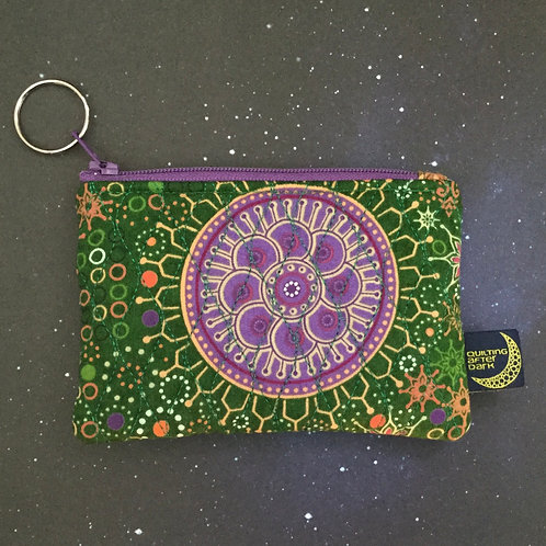 Card pouch - mandala