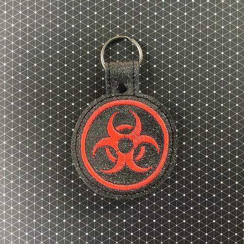 Biohazard keyfob