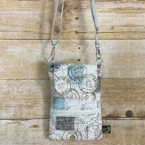 Phone crossbody - postmarks