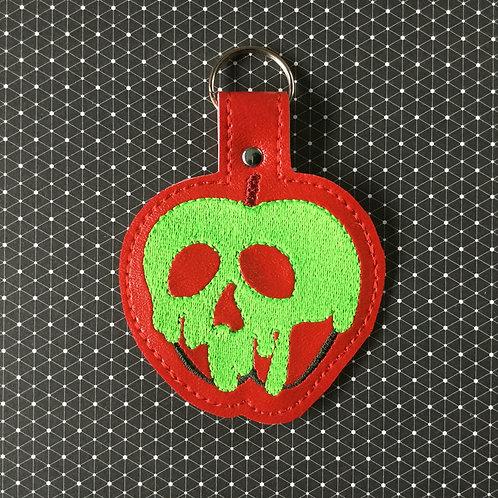 Poison apple keyfob