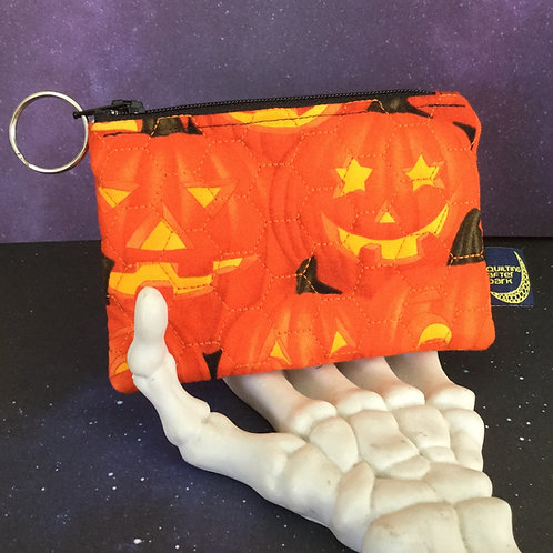 Card pouch - jackolanterns