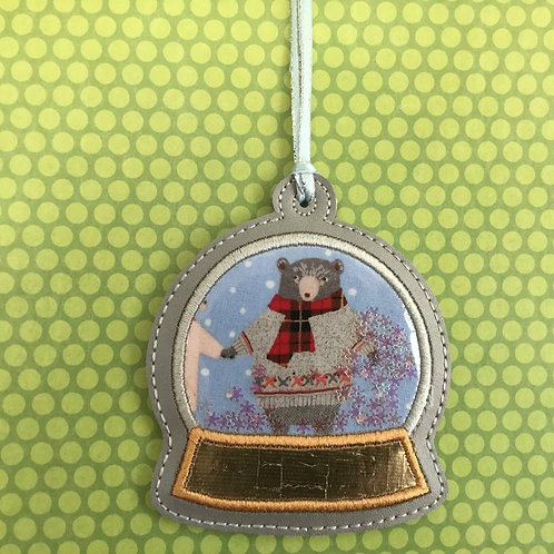Snow Globe ornament - Papa Bear