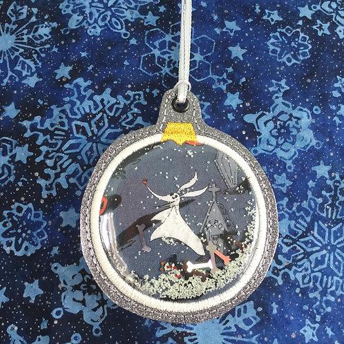Snow Globe ornament - Zero