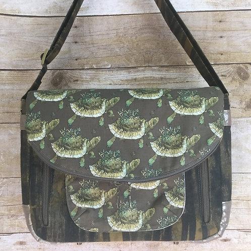 Floral Tortoise satchel