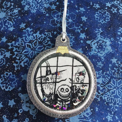 Snow Globe ornament - Lock, Shock, and Barrel