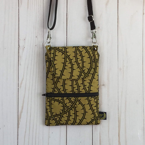 Phone crossbody - thorny vines