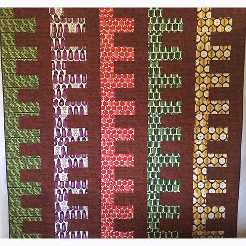 Garden Rows quilt