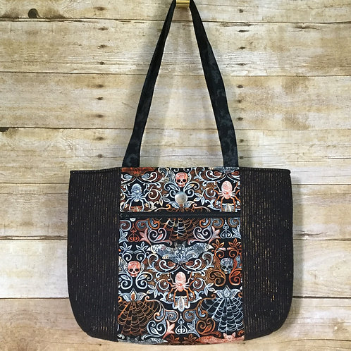 Bats & Spiders tote