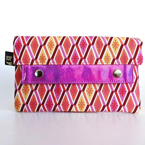 Pink Diamonds minimalist wallet