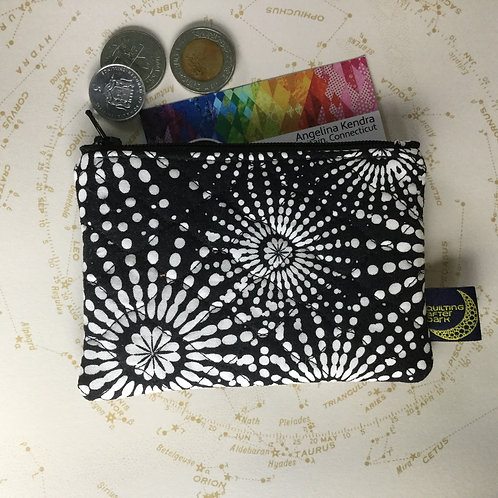 Card pouch - fireworks