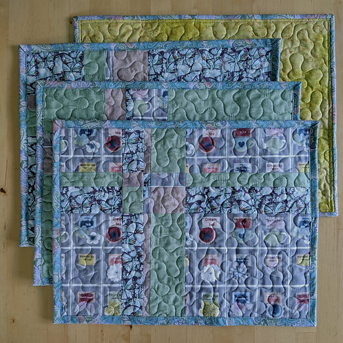 Teatime placemats (4)